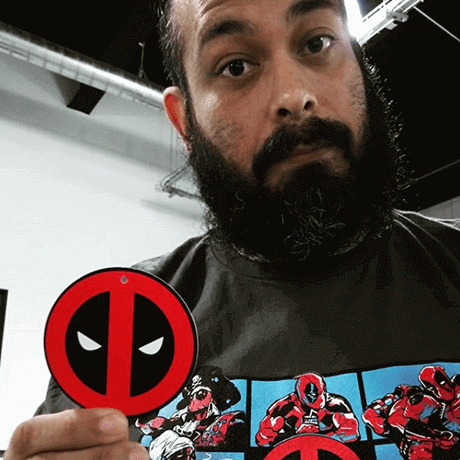 Unboxer with exclusive Deadpool bunch shirt